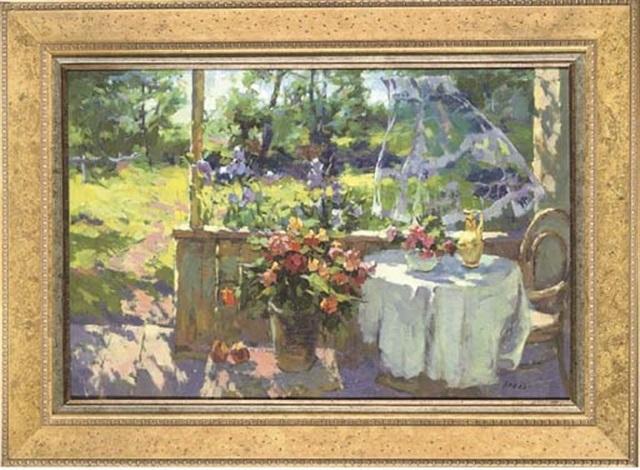on the verandah by anatoly yanev