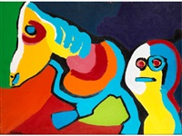 personnages by karel appel
