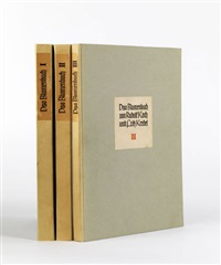 das blumenbuch (bk w/ 250 works, folio) by fritz kredel and rudolf koch