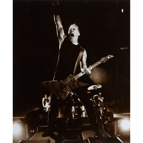 metallica live in concert 2 works by michael agel