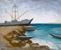 marina di carrara by carlo carrà