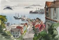 fisherman's wharf and alcatraz, san francisco by jade fon