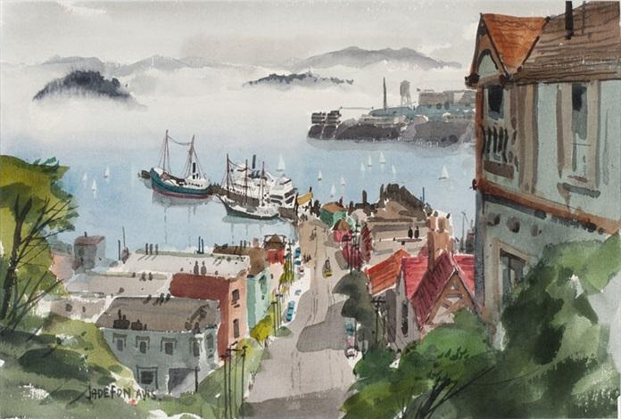 fishermans wharf and alcatraz san francisco by jade fon