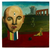 gone bowling by george condo