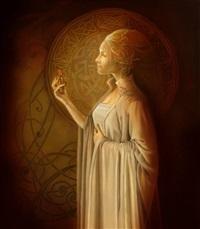 la légende des dames de brocéliande - iseult by sandrine gestin