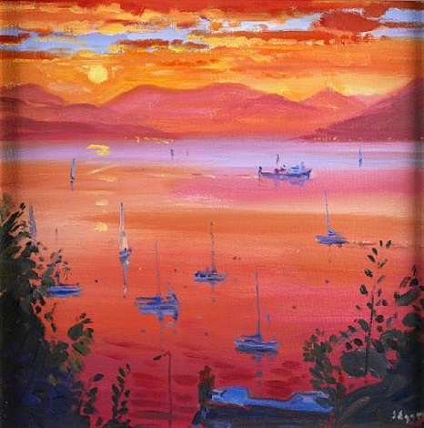 holy loch by norman edgar