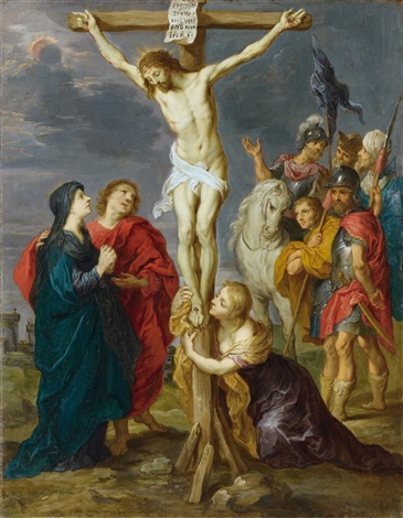 the crucifixion by sir peter paul rubens