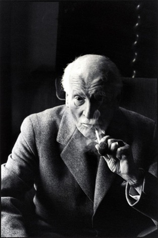 carl gustav jung by henri cartier bresson