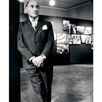 alfred eisenstaedt, exhibition opening, walker art center by tony spina