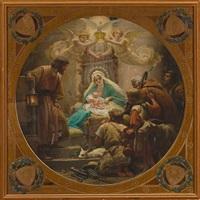 adoración de los pastores by enric monserday vidal