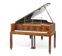 unique grand piano on four legged by bent helweg-moller