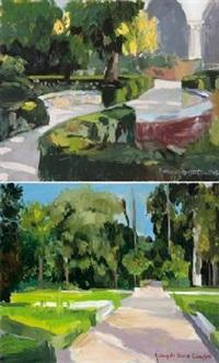 jardine de ma. luisa de sevilla (+ another; pair) by maria angeles buenos campos