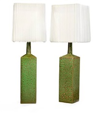 table lamps (pair) by le klint