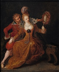 allegory of sight by frans francken the younger