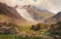 glacier du rhône by federico ashton