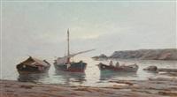 barche di pescatori by renuccio renucci