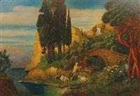 arcadian landscape by alexander frenz