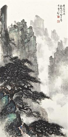 travelling in pine mountain by li xiongcai