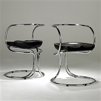 chairs (pair) by vladimir tatlin
