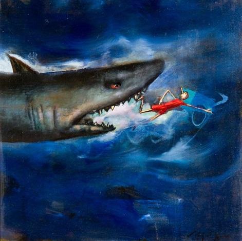 pinocchio e lo squalo by mario madiai on artnet