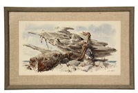 toggle and driftwood by gene (charles eugene) klebe