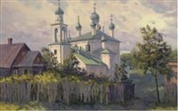 an orthodox church by nicolai alekseevich pinigin