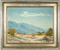 blooming desert landscape by charles worden bethell
