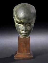 head of an african boy by richmond barthe