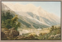 mont blanc & chamonix by mathias gabriel lory