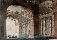 palatsbyggnad vid vatten by fredrica emerentia modée