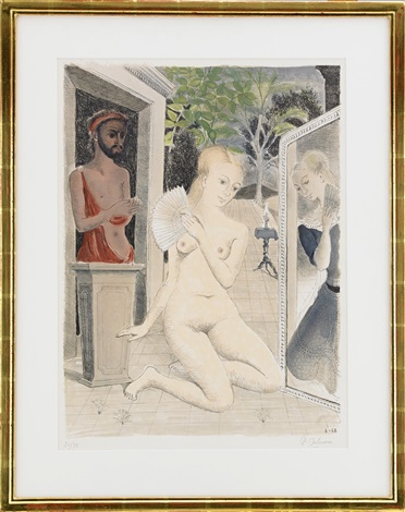 léventail by paul delvaux