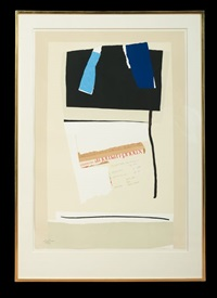 america-la france variations vi by robert motherwell