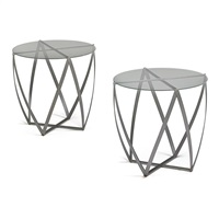 side tables (pair) by john vesey