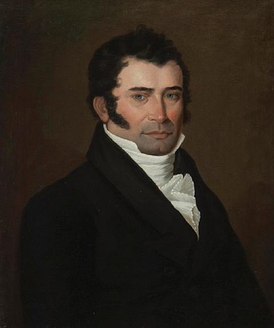 portrait of edouard martial leprohan by louis dulongpré