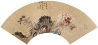 草虫花卉 by ling bizheng