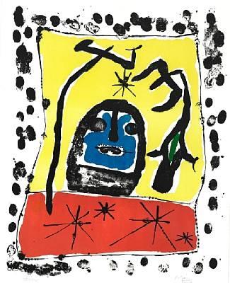 composition exposition à la galerie matarasso nice by joan miró