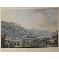 vue d'interlaken by simon daniel lafond