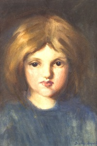 young girl by beatrice hagarty robertson