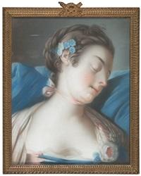 joven dormida by pietro antonio rotari