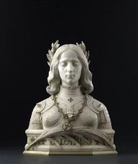 büste der giovanna d'arco by aristide petrilli