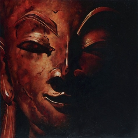 red buddha by ahmad zakii anwar