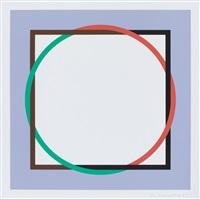 ohne titel / ohne titel 1973 (2 works) by verena loewensberg