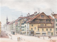 worbhaus an der spitalgasse by adolf methfessel
