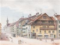 worbhaus an der spitalgasse by adolf methfessel
