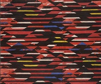 étude de tissus (study) by liubov popova