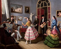 baile en el salón by manuel cabral aguado bejarano