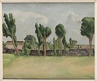 öländskt landskap by victor axelson