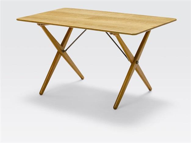 At308 (cross Leg Table) By Hans J. Wegner