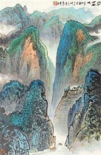 碧峰春光 by xu zhiwen