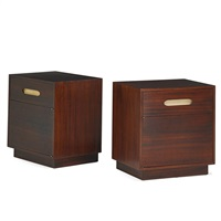 nightstands (pair) by harvey probber